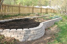 retaining wall project is complete by weege.