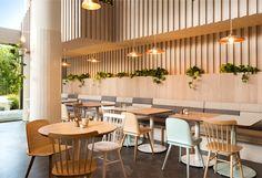 Fashionable Restaurant in Melbourne by Biasol Design Studio