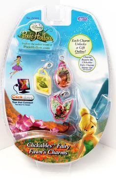 Disney Pixie Hollow Clickable  Fairy Charm Fawn #TechnoSource