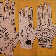 Henna (oost Indische inkt) - groep 8