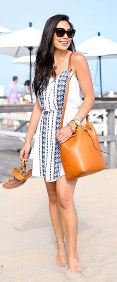 Embroidered Sundress Summer Style by With Love From Kat