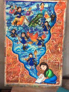 ภาพของด.ญ.กินรี จีโน รร.ป่าสันป่าสัก ชม. Save Water Poster Drawing, Drawing Competition, Composition Art, Art Competitions, Global Art, Environmental Art, Mandala Art, Art Lessons, Creative Art