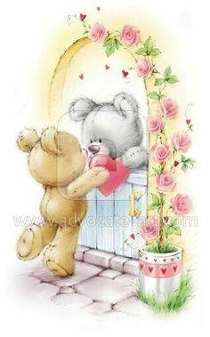 love.quenalbertini: Bear's love by Marina Fedotova