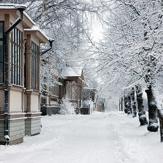 Vaasa, Finland. The city that was my home for some 25 years.