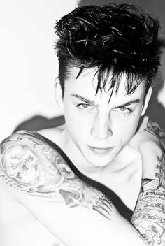 Ash Stymest Sits for a Portrait by Tom Betts