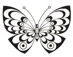 Трафареты бабочек. фото #6