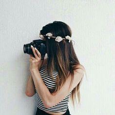 #flowercrowns #cameras #pretty #girly