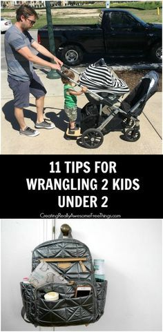 11 tips for making life easier with 2 under 2!