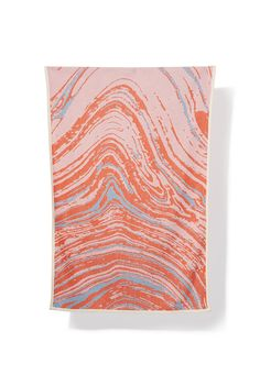 orange / rosa - Cotton Beach Towels / Mini Blankets - by Sophie Probst & Michele Rondelli Vibrant Colors, Colours, Italian Summer, Cotton Blankets, Carrara, Beach Towel, Design Inspiration, Tapestry, Pure Products