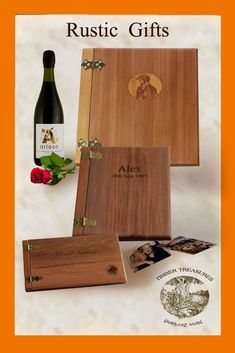 Leaving or retirement gift ideas Timber photo album or memory book. This is a unique personalized gift for a retirement or leaving present Come and see us we're only a click way.
