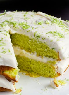 key-lime-cake. Hands down the best cake I've ever made. Thanks for the recipe Lou xx