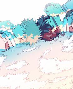 Boku no Hero Academia|| Katsuki Bakugou, Midoriya Izuku.