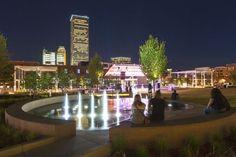 Guthrie Green Park, Tulsa