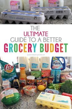 The Ultimate Guide to a Better Grocery Budget Week Pantry Shopping, Menu Planning & Beware The Me Frugal Tips, Frugal Meals, Cheap Meals, Budget Meals, Inexpensive Meals, Cheap Recipes, Budget Recipes, Freezer Meals, Quick Meals