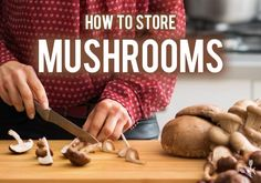 Learn how to store mushrooms including shiitake, Portobello, oyster and button mushrooms including storing in the fridge and drying to prevent them from going bad. Oyster Mushroom Recipe, Mushroom Chicken, Mushroom Recipes, Wild Mushrooms, Stuffed Mushrooms, How To Store Mushrooms, Portobello