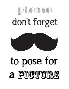 Aiden's Party: Milk, Cookies, and Mustaches (and free mustache printables!) | Shoes Off, Please
