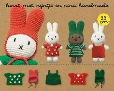 Crochet Yarn, Easy Crochet, Miffy, Crochet For Beginners, Crochet Animals, Beautiful Crochet, Crochet Patterns, Dolls, Christmas Ornaments