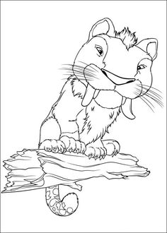 Croods Coloring pages for kids. Printable. Online Coloring. 13