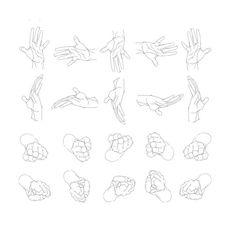 l'Atelier 9 - : Dessiner les mains