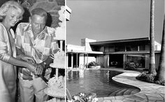 palm spring home of frank sinatra | ... 1976. (Right) 1948 photograph of Frank Sinatra's Palm Springs home