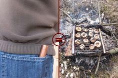 How to make a pocket grill from copper tubing and bicycle spokes