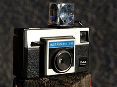 The Kodak Instamatic with flash cube