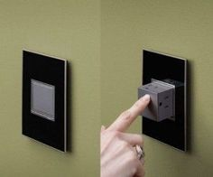 Pop Out Power Outlet The future of wall outlets is finally here! There's no need to have those ugly holes in your wall anymore, the Pop Out Power Outlet allows you to simply access power when you need it and keep your house sleek and tidy when you don't.