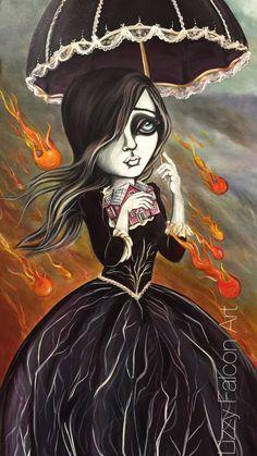 Original Art by Lizzy Falcon
