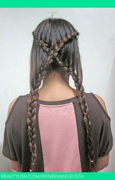 braids for long hair | Braid for long hair | Irene U.'s (ireneevangelista) Photo ...