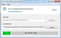 Free SoundCloud Downloader from Minimalite offers an easy to use platform to break all such restrictions. You can continue downloading music on-the-go from SoundCloud as MP3 without any restrictions with this portable software.