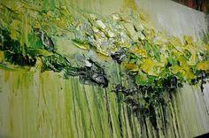 Arte pintura Original pintura abstracta pintura del paisaje