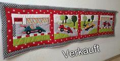 Piroska, Piros, Wandschutdecke, Babybett, Namensschild - Eigene Designs