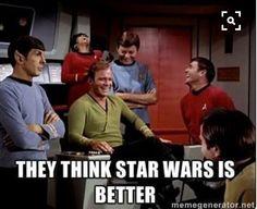 Star Trek is life. Live long and prosper.