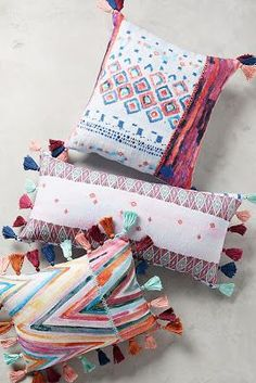 Anthropologie Favorites:: House & Home Favorites Cushions ready for spring