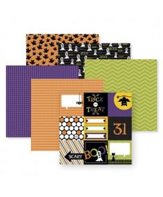 """Use our new paper pack """"Trick or Treat"""" to remember your special Halloween moments! http://www.creativememories.com/user/debrashipley"""