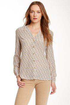 Jayden Silk Blouse by Tory Burch on @HauteLook