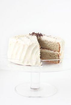 Roasted Banana Cake with Browned Butter Cream Cheese Frosting