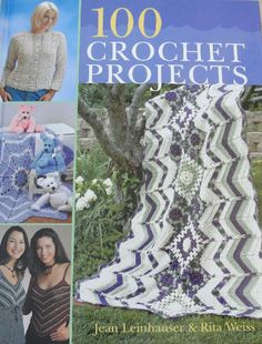 Enter now to win 100 crochet projects book