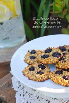 Testez cette recette de biscuits ultra sains aux flocons d'avoine et myrtilles