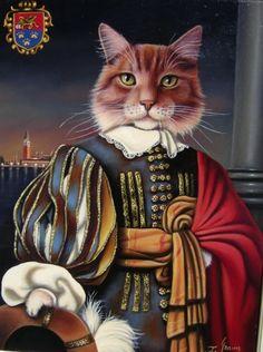 Galleria gatti. Joyce Grams