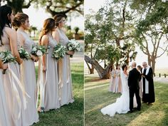 Lowndes Grove Plantation Wedding ceremony. Lowndes Grove Plantation Wedding, Charleston Wedding Photographer. To see more go to http://www.monikagauthier.com/lowndes-grove-plantation-wedding-janelle-john/