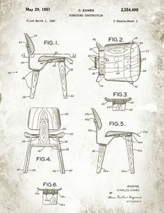 .bak: Low Chair Wood, Charles & Ray Eames