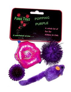 Popping Purple Cats and Kittens Toys from Just a Touch of Everything