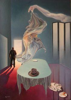Pinturas surrealistas de Lohmuller Gyuri 2