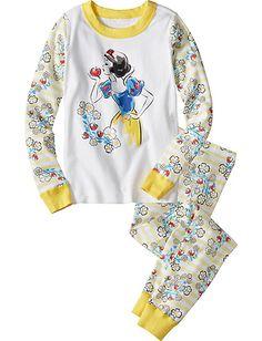 Disney Snow White Stripe Long John Pajamas from Hanna Andersson