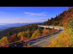 Timelapse: A Progression of Color across the Blue Ridge Mountains near Asheville ... song 'Childgrove' performed by local hammered dulcimer musician Jerry Read Smith