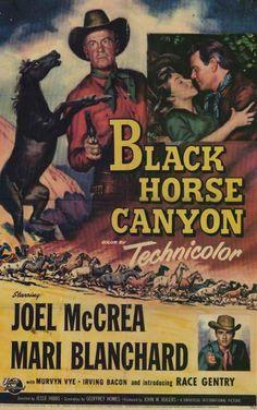 Black Horse Canyon (1954) - Joel McCrea DVD