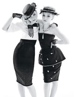 The Fanning sisters are so fierce and I love it.