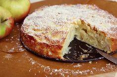 Kleiner Apfelkuchen mit Vanille und Zimt