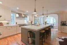 Classic Coastal Colonial Renovation - the Anti McMansion - contemporary - kitchen - newark - Michael Robert Construction